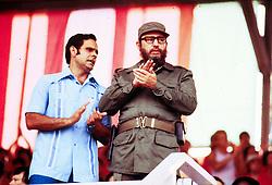 Cuba, Avana  - April 21, 2003.Fidel Castro. (Credit Image: © Carulli/Fotogramma/Ropi via ZUMA Press)