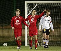 Fotball, 01. februar 2005, La Manga, Brann - Rosenborg 3-1, Paul Scharner og Ragnvald Soma, Brann