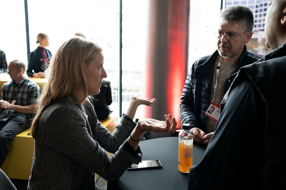 Speaker Meet-ups at TED2019: Bigger Than Us. April 15 - 19, 2019, Vancouver, BC, Canada. Photo: Bret Hartman / TED