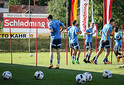 01.07.2016, Athletic Area, Schladming, AUT, U19 EURO, Vorbereitung Deutschland, DFB U19 Junioren, im Bild das Team beim Training // during a training camp of Team Germany for preparation for the UEFA European Under-19 Championship at the Athletic Area, Austria on 2016/07/01. EXPA Pictures © 2016, PhotoCredit: EXPA/ Martin Huber