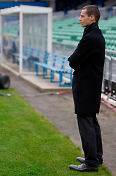 Aleksander Ceferin, president of NZS during practice session of Slovenia National football team One day before EURO 2012 Quaifications game between National teams of Slovenia and Northern Ireland, on March 28, 2011, in Windsor Park Stadium, Belfast, Northern Ireland, United Kingdom. (Photo by Vid Ponikvar / Sportida)
