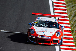 Dino Zamparelli | GT Marques | #88 Porsche 911 GT3 Cup | Porsche Carrera Cup GB | Free Practice 1 - Mandatory byline: Rogan Thomson/JMP - 03/06/2016 - MOTORSPORT - Oulton Park Circuit - Little Budworth, England - BTCC Meeting.
