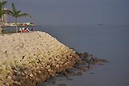 Malecón en La Cinta Costera, Av. Balboa. Panamá City.©Victoria Murillo/Istmophoto.com
