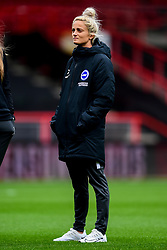 Aileen Whelan of Brighton and Hove Albion Women prior to kick off - Mandatory by-line: Ryan Hiscott/JMP - 07/09/2019 - FOOTBALL - Ashton Gate - Bristol, England - Bristol City Women v Brighton and Hove Albion Women - FA Women's Super League