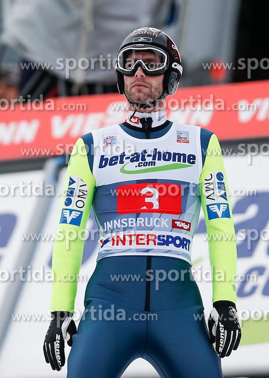 04.01.2014, Bergisel Schanze, Innsbruck, AUT, FIS Ski Sprung Weltcup, 62. Vierschanzentournee, Bewerb, im Bild Wolfgang Loitzl (AUT) // Wolfgang Loitzl of Austria during Competition of 62nd Four Hills Tournament of FIS Ski Jumping World Cup at the Bergisel Schanze, Innsbruck, Austria on 2014/01/04. EXPA Pictures © 2014, PhotoCredit: EXPA/ Peter Rinderer
