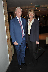 BARRY & LADY CHARLOTTE DINAN at a screening hosted by 'The Volunteer' of a documentary film of work in Haiti, held at the Courthouse Hilton Hotel, 19-21 Great Malborough Street, London on 29th March 2011.