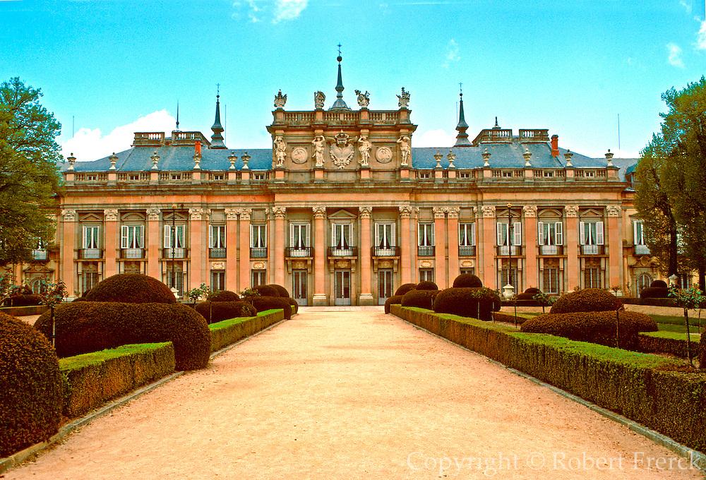 SPAIN, CASTILE AND LEON La Granja de San Ildefonso; Palace