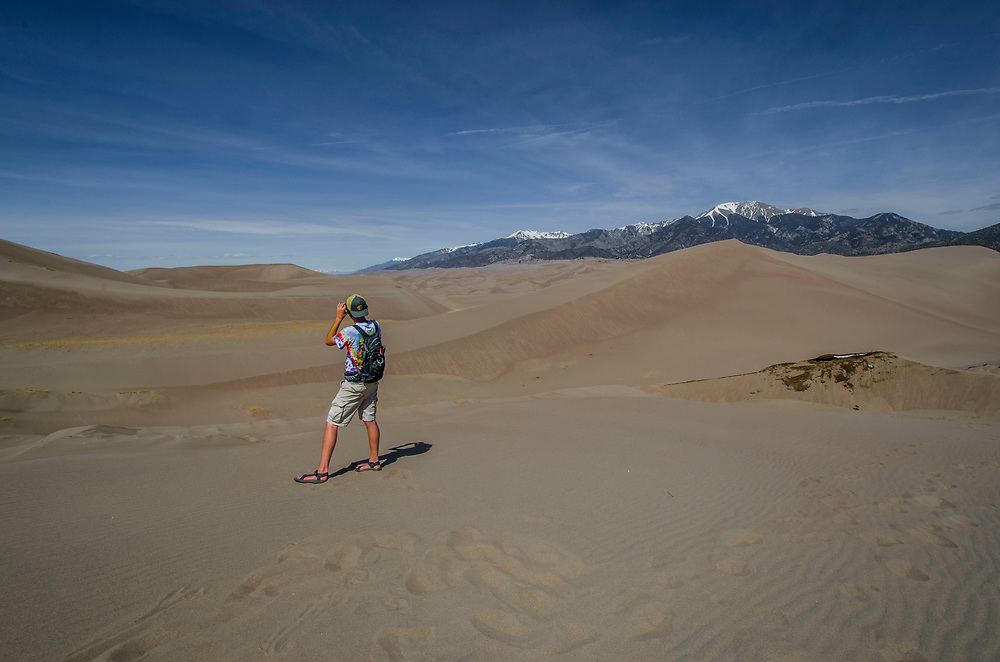 Photography from the Great Sand Dunes National Park and Preserve, Colorado. USA.