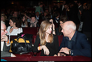 ISABELLA KNOPFLER; MARK KNOPFLER , Once Gala night raising funds for Oxfam's Mother Appeal. Phoenix Theatre. Charing Cross Rd. . London. 17 March 2014.