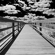 &quot;Skies of Grand Marais&quot; B&amp;W<br />