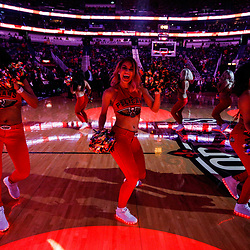 Nov 29, 2017; New Orleans, LA, USA; New Orleans Pelicans dance team performs before a game against the Minnesota Timberwolves at the Smoothie King Center. Mandatory Credit: Derick E. Hingle-USA TODAY Sports