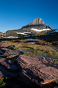 Sunsets on Logan Pass, Glacier National Park.