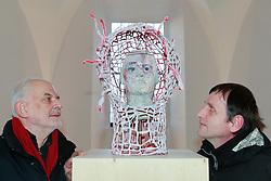 26.01.2013, Schladming, AUT, FIS Weltmeisterschaften Ski Alpin, Schladming 2013, Vorberichte, im Bild das Kunstprojekt GLORIA - Sport im sakralen Raum von haptic (Günther Silwa Sedlak, Günter Jost) in der Annakapelle am 26.01.2013 // the art project GLORIA from haptic (Günther Silwa Sedlak, Günter Jost) on 2013/01/26, preview to the FIS Alpine World Ski Championships 2013 at Schladming, Austria on 2013/01/26. EXPA Pictures © 2013, PhotoCredit: EXPA/ Martin Huber