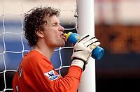Photo: Daniel Hambury.<br />Arsenal v Wigan Athletic. The Barclays Premiership. 07/05/2006.<br />Arsenal's goal keeper Jens Lehmann.
