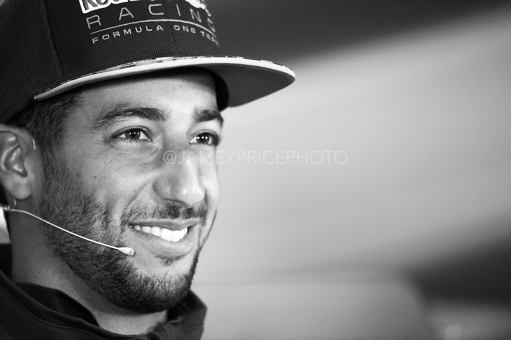June 9-12, 2016: Canadian Grand Prix. Daniel Ricciardo (AUS), Red Bull