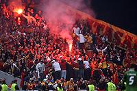 UEFA Champions league group H football match between  Braga v Galatasaray at Municipal (AXA)Stadium in Braga, Portugal 05.12.2012.Match Scored: Braga 1 - Galatasaray 2.Pictured: Fans