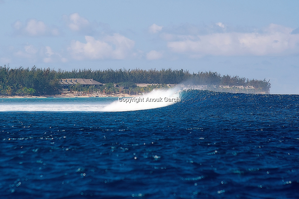 Surfing in front the morne barbant | Surf devant le Morne Barbant