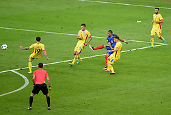 Dimitri Payet of France scores a late winning goal  - Mandatory by-line: Joe Meredith/JMP - 10/06/2016 - FOOTBALL - Stade de France - Paris, France - France v Romania - UEFA European Championship Group A