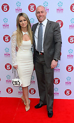 Ola Jordan with James Jordan attends at the Tesco Mum of the Year awards in  London, Sunday, 23rd March 2014. Picture by Nils Jorgensen / i-Images