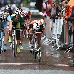 Ashlynn van Baarle (Zoetermeer) wordt in Dalen Nederlands kampioen bij de junior vrouwen voor Kelly Markus en Thalita de Jong