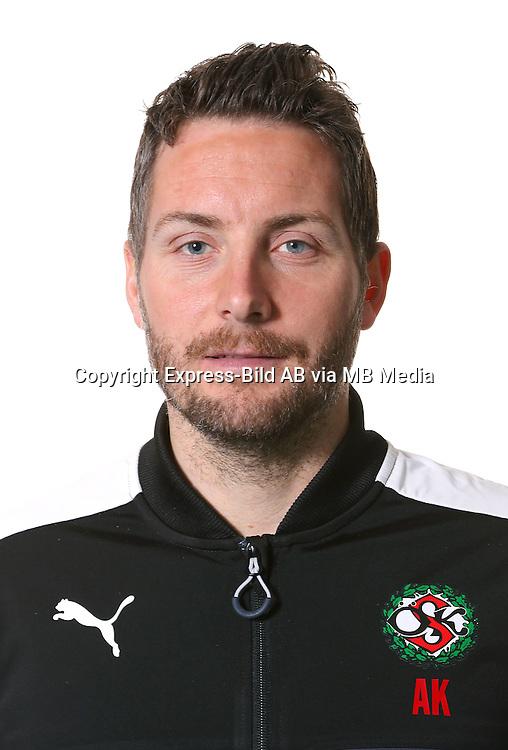 Axel Kj&auml;ll<br /> Halvfigur<br /> @Leverans<br /> Allsvenskan 2016<br /> Fotboll