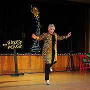 """Brenda Bufalino performs in the show """"Ring in the Rhythm! A Jazz & Tap Holiday"""" at The Dance Hall in Kittery, ME"""