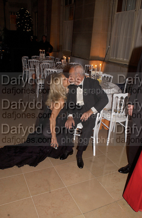 Mr. and Mrs. (Martha) Dino de Laurentiis, The  Thirteenth Annual Crillon Haute Couture Ball. Paris,  29 November 2003. © Copyright Photograph by Dafydd Jones 66 Stockwell Park Rd. London SW9 0DA Tel 020 7733 0108 www.dafjones.com