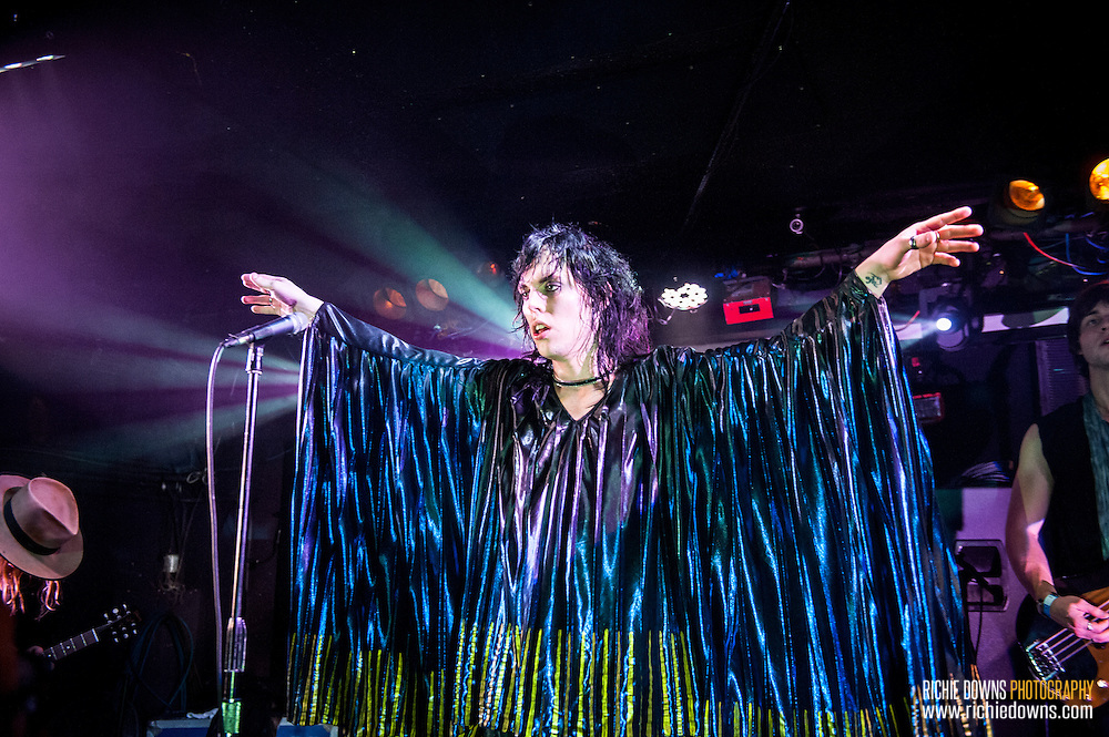 The Struts perform at Rock & Roll Hotel in Washington, DC on 12/15/2015.