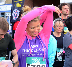 MAR 23 2014 Amy Willerton takes part in Human Race Pace Series run