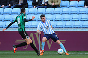 Coventry City Defender Chris Stokes during the Sky Bet League 1 match between Coventry City and Rochdale at the Ricoh Arena, Coventry, England on 5 March 2016. Photo by Chris Wynne.
