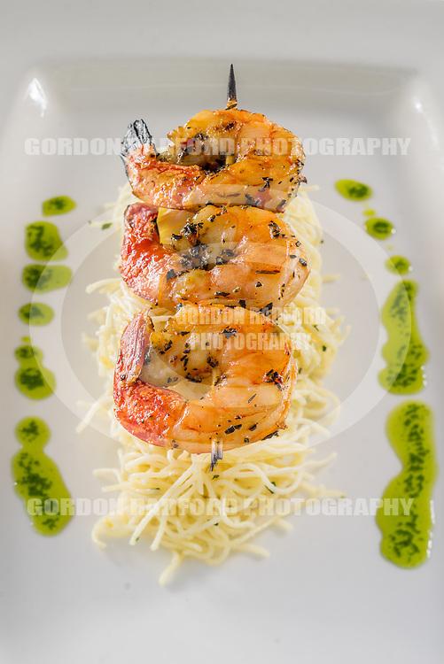 Fire Roasted Spicy Shrimp & Lemon Capelinni Pasta Salad