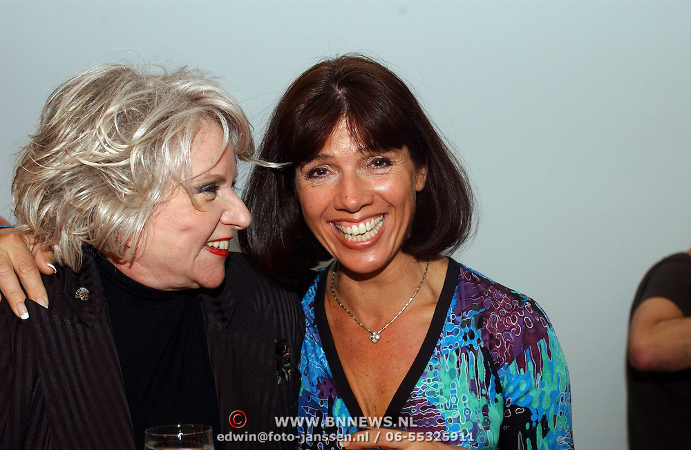 Premiere Ramses,  Sylvia de Leur en Janke Dekker