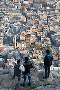 View of Damascus from Mount Qassiun, Syria