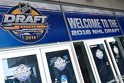 The 2016 NHL Draft is in Buffalo, NY on June 24-25, 2016. Photo by Aaron Bell/CHL Images