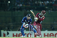 ICC World Twenty20 Super 8s match -  England v  West Indies 27th September 2012