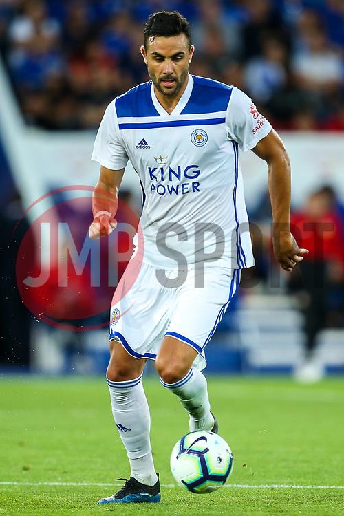 Vicente Iborra of Leicester City - Mandatory by-line: Robbie Stephenson/JMP - 01/08/2018 - FOOTBALL - King Power Stadium - Leicester, England - Leicester City v Valencia - Pre-season friendly