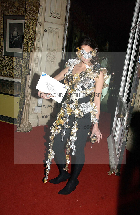 ASIA ARGENTO at the 2006 Moet & Chandon Fashion Tribute in honour of photographer Nick Knight, held at Strawberry Hill House, Twickenham, Middlesex on 24th October 2006.<br /><br />NON EXCLUSIVE - WORLD RIGHTS