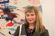 VIRGINIA VERRAN, Preview for the London Art Fair,  Islington Business Design Centre. London. 13 January 2014
