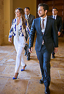 Queen Rania &  Crown Prince Hussein At WEF, Dead Sea