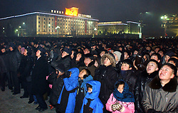 New Year s concert in Pyongyang, the Democratic People s Republic of Korea (DPRK), January 1, 2013. Photo by Imago / i-Images...UK ONLY