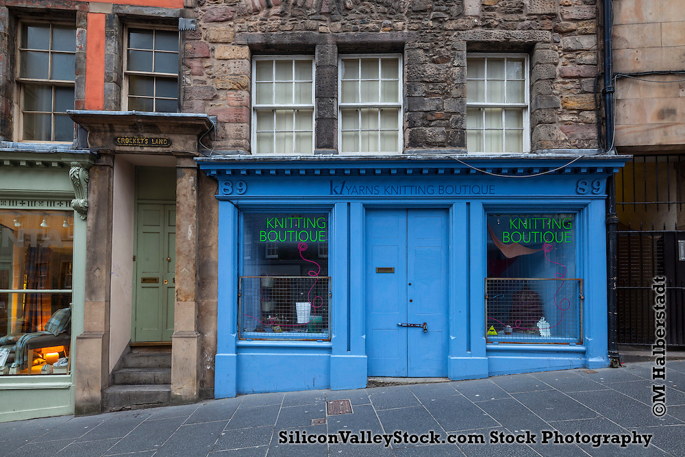 K1 Yarns Knitting Boutique, Shopfront Series, Edinburgh, Scotland, United Kingdom, Europe