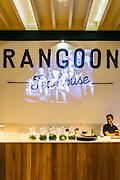 'Rangoon Tea House' located in a heritage building. Yangon, Myanmar