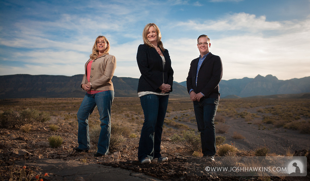 Christian Raymer, Jill Bernacki, & Joann Ohlmeier of Trauma Intervention Program of Southern Nevada.