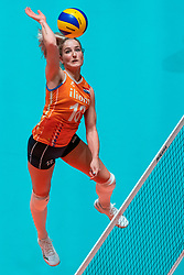 29-05-2019 NED: Volleyball Nations League Netherlands - Bulgaria, Apeldoorn<br /> Marrit Jasper #18 of Netherlands