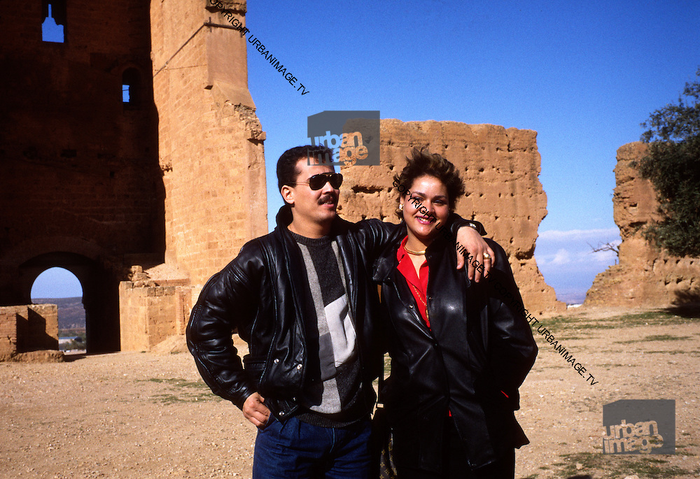 Chaba Fadela and Cheb Sahraoui at  the Mansourah Tlemcen Algeria