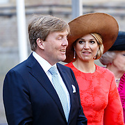NLD//Middelburg20160421 - Four Freedoms Awards 2016, Koning Willem-Alexander en Konining Maxima
