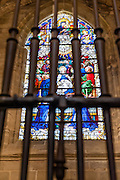 Sevilla Cathedral Window (Spain)