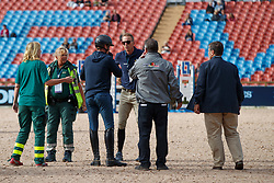 Philippaerts Olivier, BEL, Fredricsson Peder, SWE<br /> Official Training Jumping<br /> FEI European Para Dressage Championships - Goteborg 2017 <br /> © Hippo Foto - Dirk Caremans<br /> 22/08/2017,