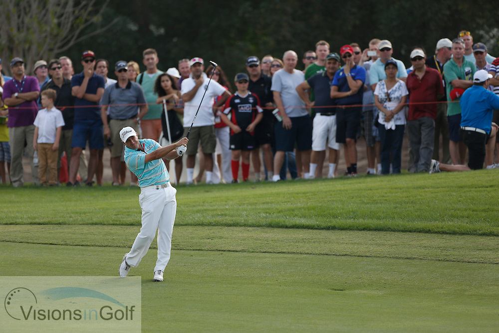 Rory McIlroy<br /> during the second round of the Race To Dubai DP World Tour Golf Championship, Dubai, UAE November  2013<br /> Picture Credit:  Mark Newcombe / www.visionsingolf.com