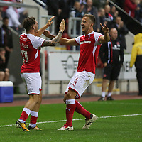 Rotherham United VS Walsall FC, New York Stadium Rotherham, Tuesday 12th September 2017 <br />